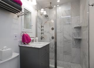 Gray Marble Bathroom | by Paintzen