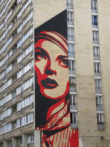 street art & graffiti Paris - Obey | by _Kriebel_