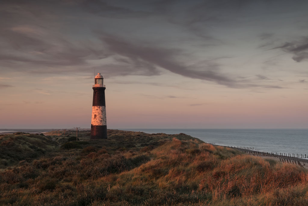 Spurn Lighthouse at Sunset Sept 2012-00103