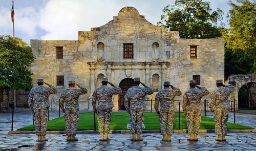 history texas respect salute soldiers tribute thealamo sanantoniotexas tpslandscape gpsetest