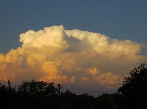 sunset georgia atardecer cumulonimbus toccoa