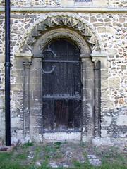 Norman priest door