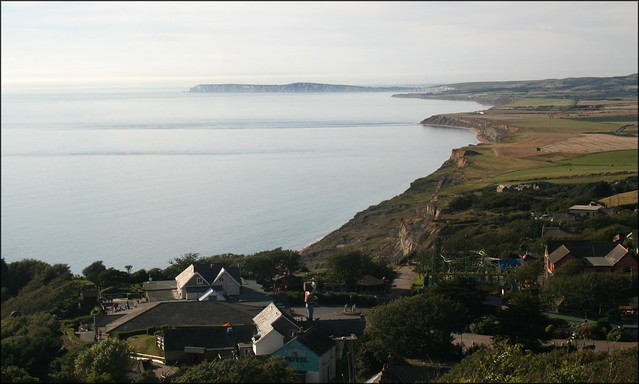 The south west coast of the Isle of Wight