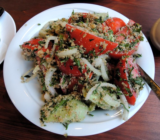 Typical Georgian salad -- yummy by bryandkeith on flickr