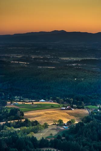 orange oregon evening twilight unitedstates hillsboro tualatinvalley chehalemmountains baldpeakstatescenicviewpoint