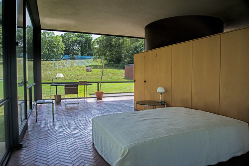 The Glass House bedroom