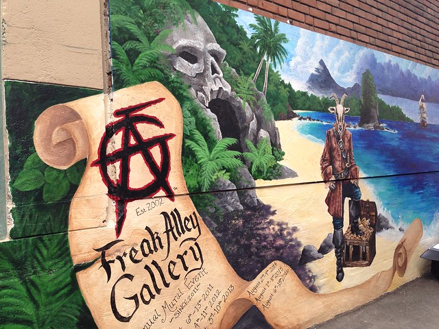 Freak Alley Gallery, Boise