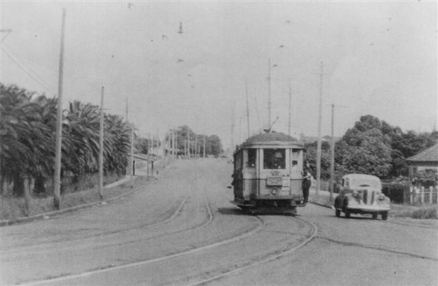 Great North Road near Blackwall Point Road, Abbotsford NSW  1954