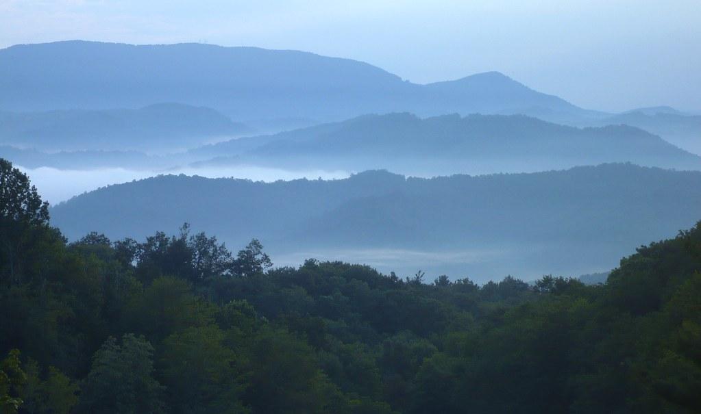 Blue Ridge sun-rise