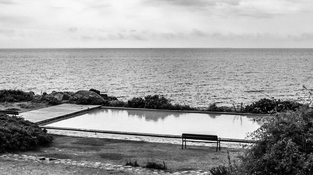 Pool by the sea