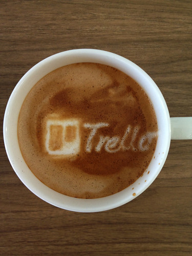 Today's latte, Trello. | by yukop