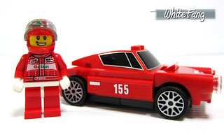 This LEGO racer is taking a nice pose with the legendary 250 GT Berlinetta