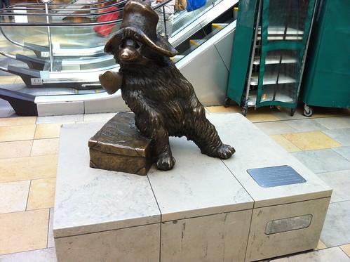 Paddington Bear Statue @ Paddington Station | by justgrimes