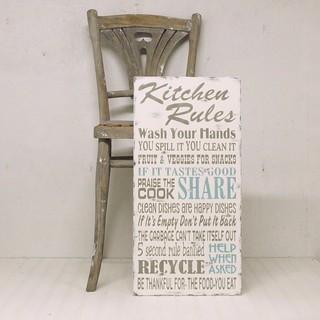 Kitchen Rules Sign Signs Of Vintage Flickr