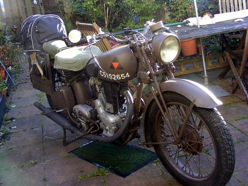 WW2 Dispatch Rider's Bike.
