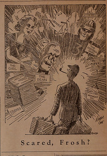 A cartoon from the TSL from beginning of 1940-41 school year