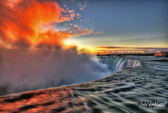 Niagara Falls on Fire