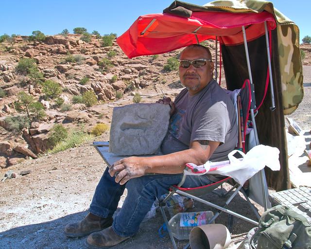 Navajo Artist