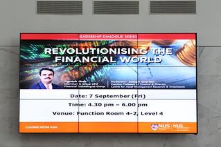 Leadership Dialogue Series: Revolutionising the Financial World by Mr Jignesh Shah, 7 September 2012
