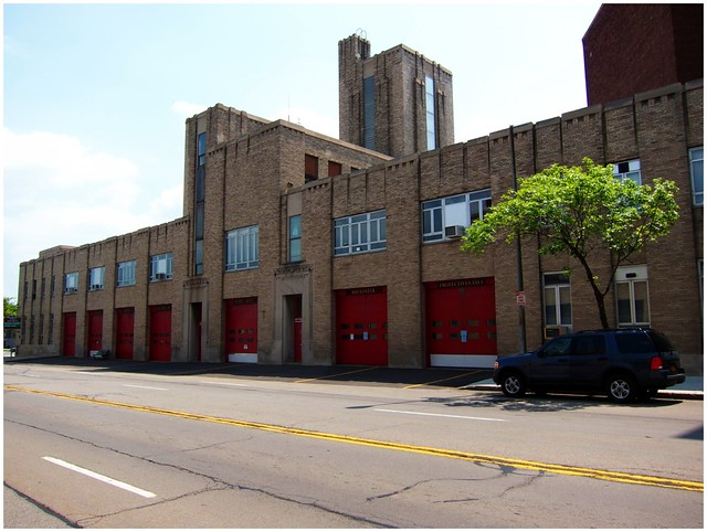 Rochester NY ~ Station ~ Rochester Fire Department Headquarters and Shops