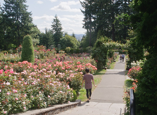 Yours truly at International Rose Test Garden, Portland | by InSapphoWeTrust