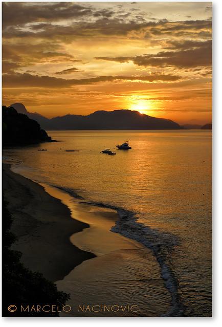 Praia Vermelha em Angra dos Reis