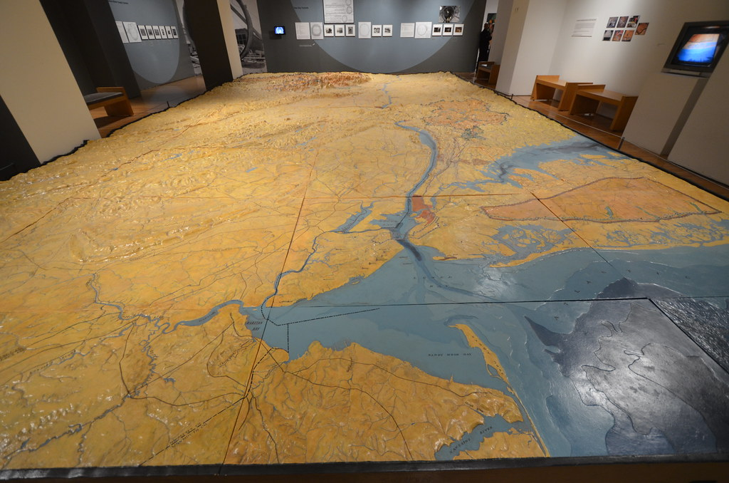 New York City Museums Map on