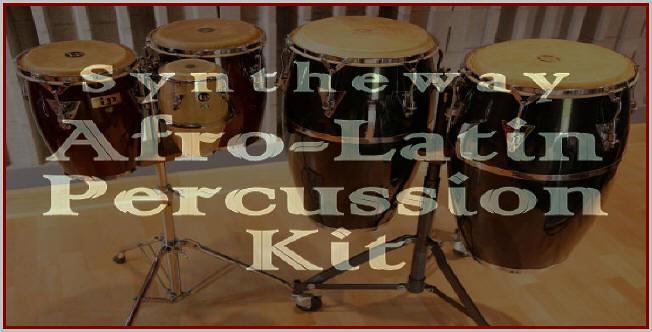Syntheway Afro-Latin Percussion Kit: Bongo Drum, Conga (Tu… | Flickr