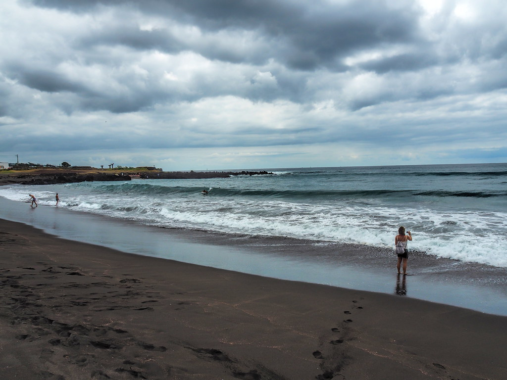 Populo Beach Sao Miguel Island Olympus Digital Camera