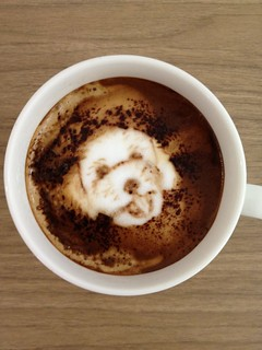 Today's latte, @atsuoishimoto. | by yukop