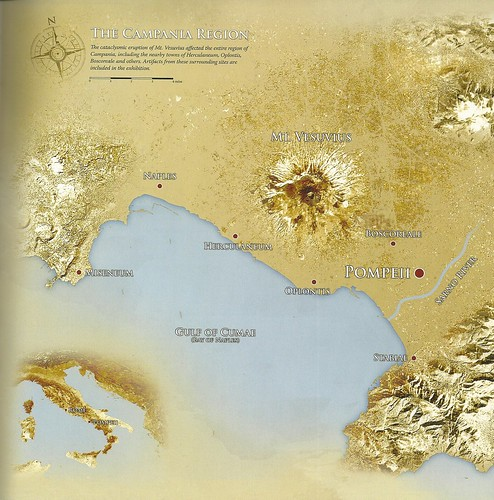 Bay of Naples - map with ancient sites | by The Classical World
