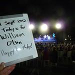 Today is for William Olsen - Happy birthday!