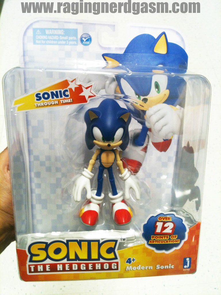 Sonic The Hedgehog Action Figures By Jazwares Modern Sonic Flickr
