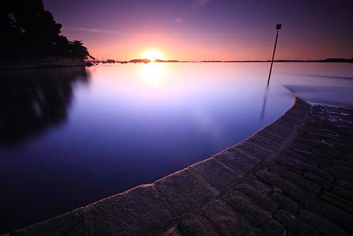 longexposure seascape sunrise landscape bretagne lee paysage morbihan leverdesoleil arradon poselongue nd110 bwnd110 09ndgrad