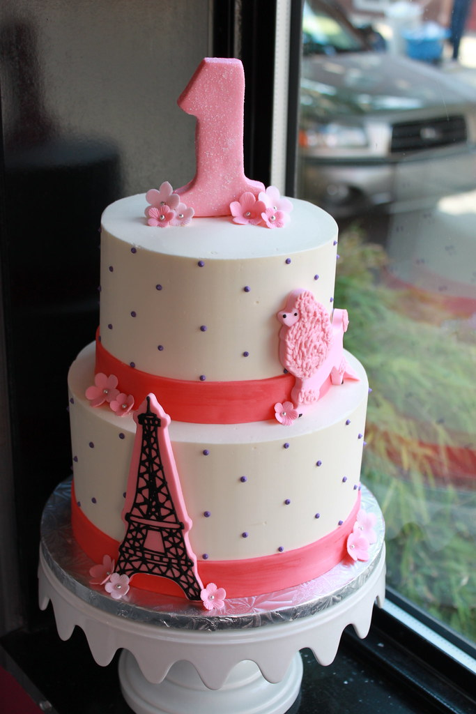 Fantastic Paris Themed Birthday Cake Zoe Lukas Flickr Funny Birthday Cards Online Fluifree Goldxyz