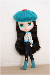 Turquoise Beret from Dafnery's Corner ^^