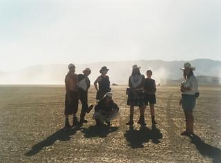 Camp Hasselhoff at Burning Man 1995 | by Rusty Blazenhoff