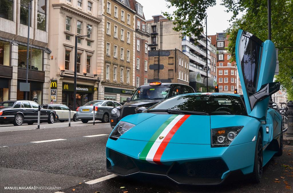 Mexican Flag Turquoise Lamborghini Murcielago Lp670 4 S Flickr