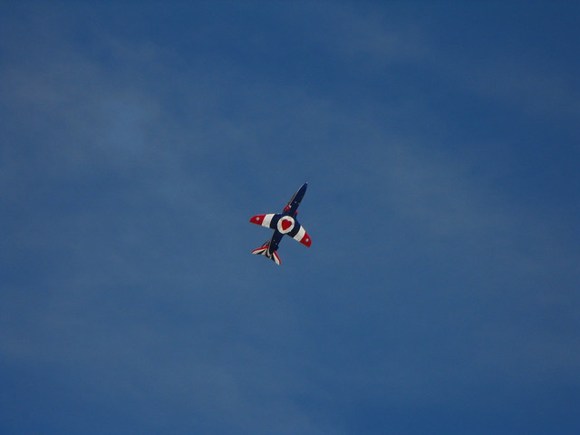 Flying the Flag - XX 278 @ Duxford 2012