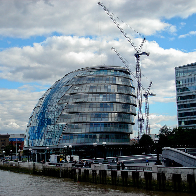 CITY HALL  Mayor of London's Office (Architect Sir Norman Foster 2001)