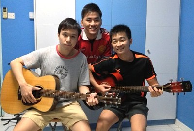 Guitar lessons Singapore Kester Alex