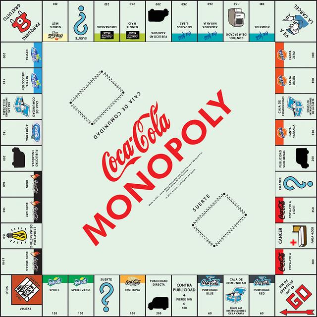 CocaCola Monopoly Classic