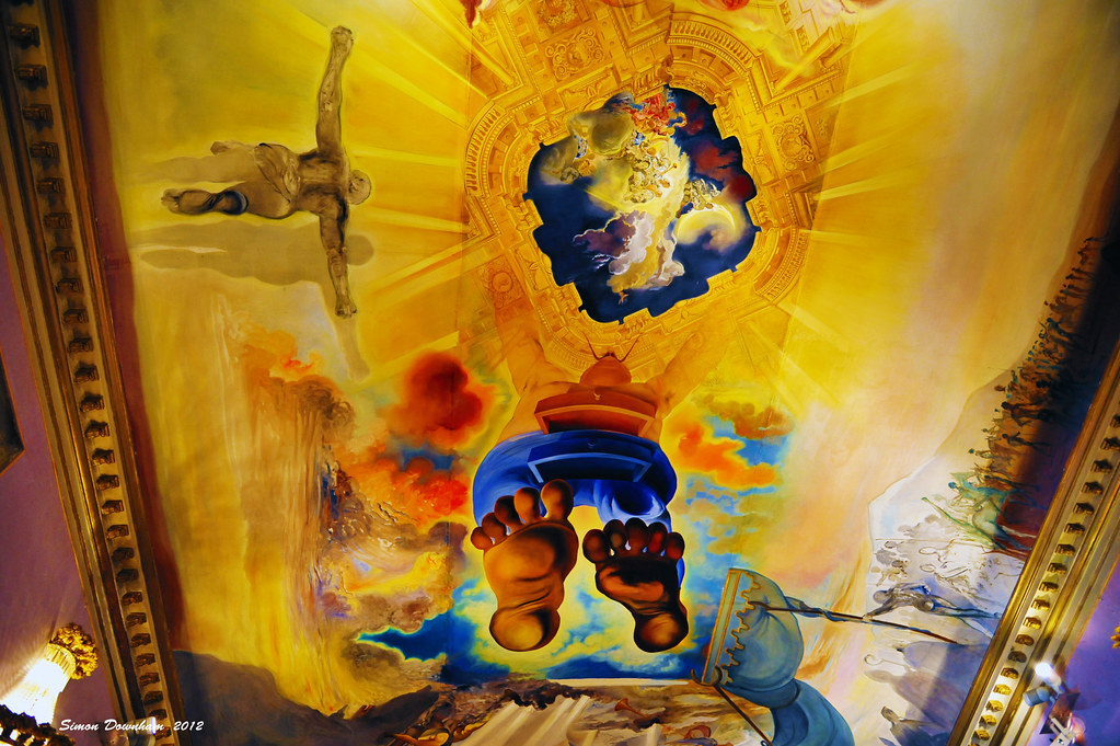 Palace of the Wind (Salvador Dali) | This art work is locate… | Flickr