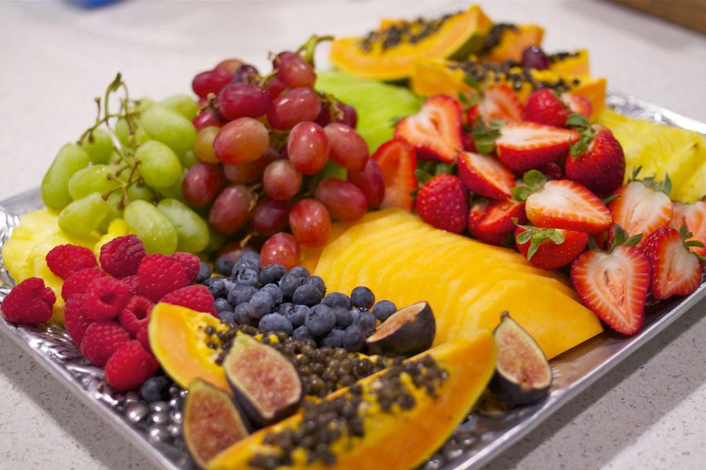 Breakfast Fruit Platter Krystaslifeinfood Com Flickr