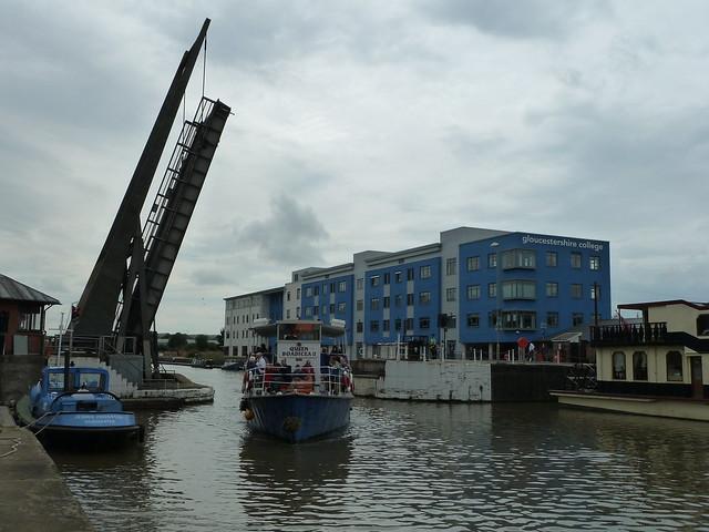 Queen Boadicea II Gloucester Docks