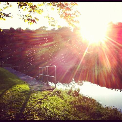 kilkenny ireland sunset river lock barrow midgets tinnahinch cokilkenny graiguenamanagh graignamanagh davidkinsella dkins8