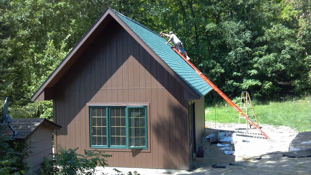 TUFF SHED Cabin   Custom cabin built for a customer in North