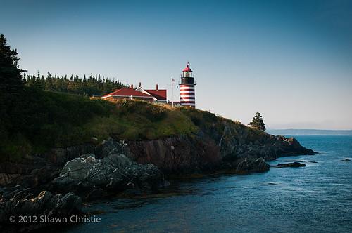 lighthouse unitedstates maine newbrunswick lubec campobello quoddy westquoddylighthouse