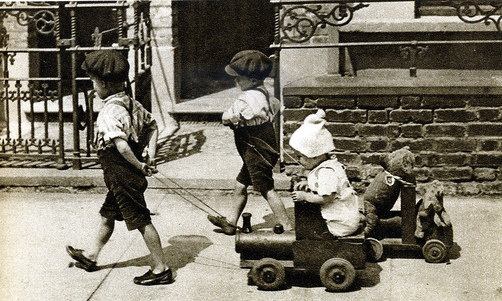 London in the 1920's | In an age before plastics, most toys … | Flickr