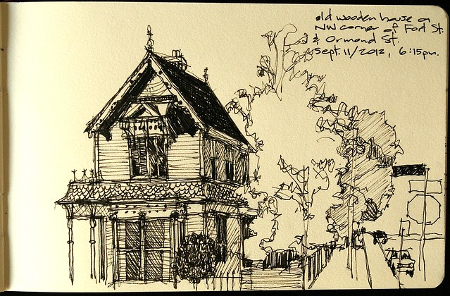 Victoria - old wooden house